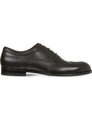 BOTTEGA VENETA York leather brogues