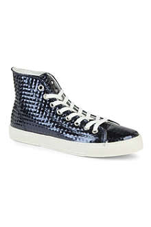 KURT GEIGER Dexter high-top trainers