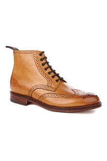 GRENSON Sharp wingcap boots