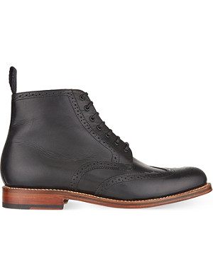 GRENSON Alfred wing cap boots