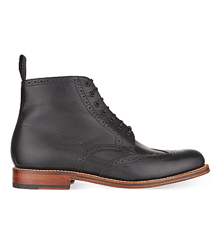 GRENSON Alfred boots (Black