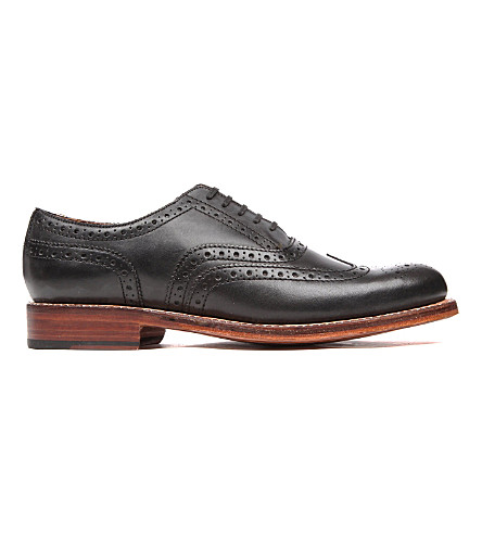 GRENSON Angus Oxford shoes (Black