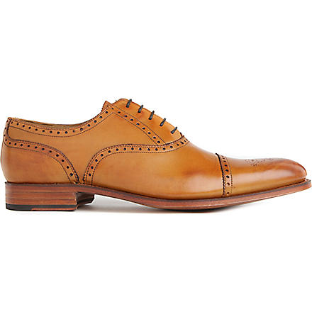 GRENSON Tom Oxford brogues (Tan