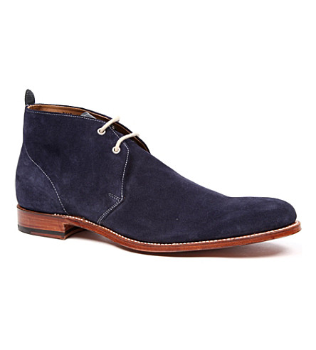 GRENSON Silas boots (Navy
