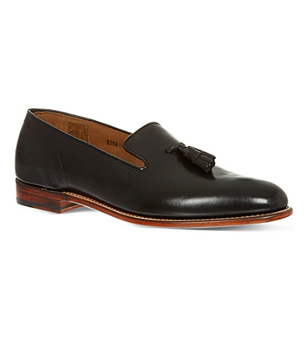 GRENSON Marsell Tassel slip-on shoes (Black