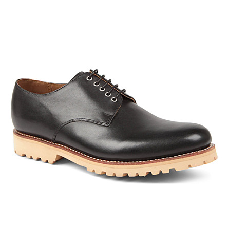 GRENSON Finton Derby shoes (Black