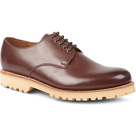 GRENSON Finton Derby shoes (Brown