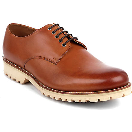 GRENSON Finton Derby shoes (Tan