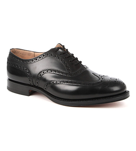 CHURCH Burwood brogues (Black