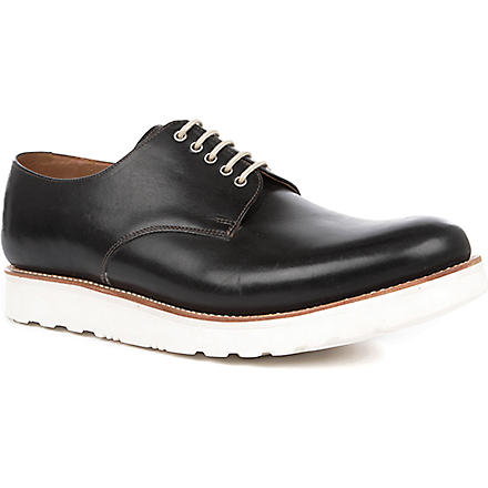 GRENSON Finbar Wedge Derby shoes (Black