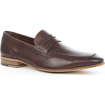 BALLY Felix penny loafers (Brown