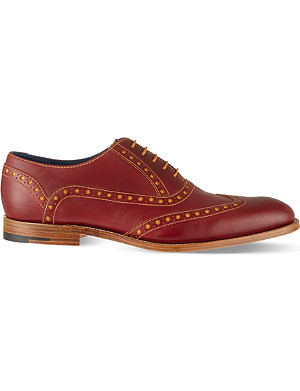 BARKER Grant wingcap derby shoes