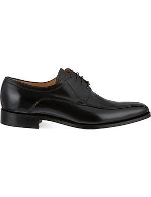 BARKER Newbury square toe Derby shoes