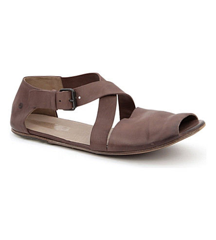 MARSELL Arsella cross toe sandals (Brown