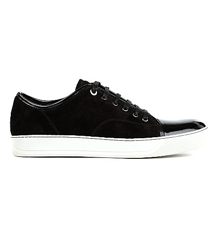 LANVIN Low-top trainers (Black