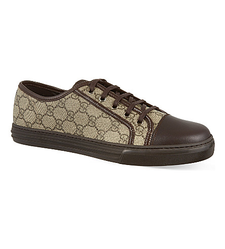GUCCI California low tops (Brown