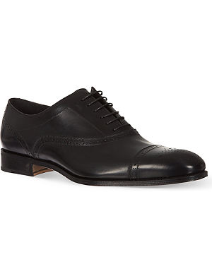 FERRAGAMO Casey toecap Oxford shoes