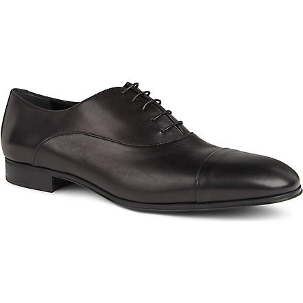 FERRAGAMO Fantino Oxford shoes (Black