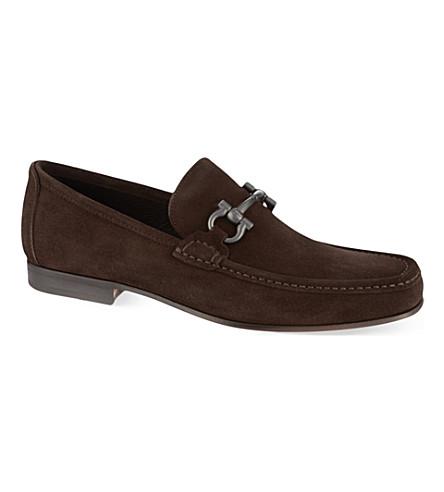 FERRAGAMO Girodano loafers (Brown