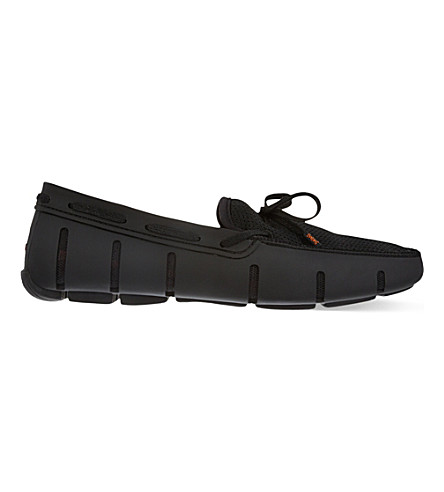SWIMS Lace front loafers (Black