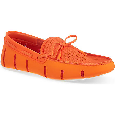 SWIMS Lace front loafers (Orange
