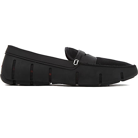 SWIMS Penny rubber loafers (Black