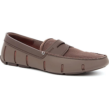 SWIMS Penny rubber loafers (Brown