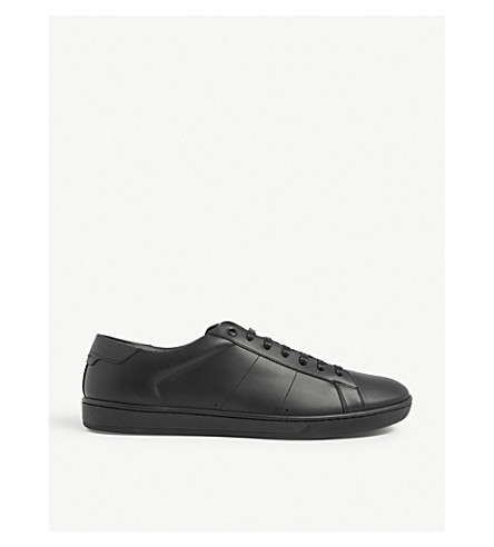 Classic leather trainers(690-10004-3850800109)