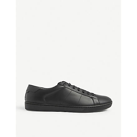 SAINT LAURENT Classic leather trainers (Black