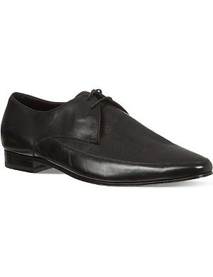 SAINT LAURENT Perforated Apron Derby shoes