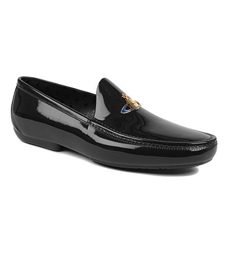 VIVIENNE WESTWOOD Icon orb loafers (Black