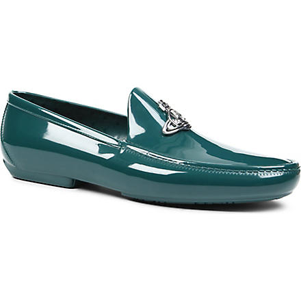 VIVIENNE WESTWOOD Icon orb loafers (Green