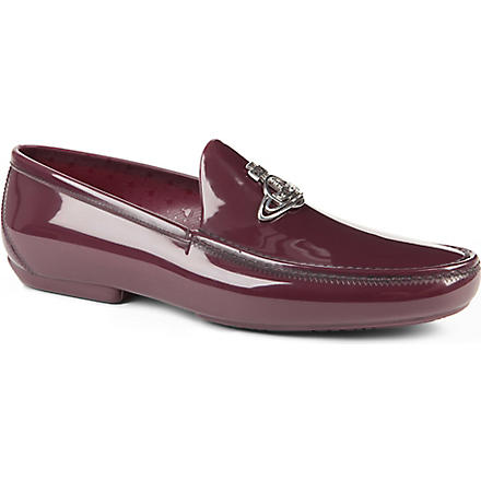 VIVIENNE WESTWOOD Icon orb loafers (Purple