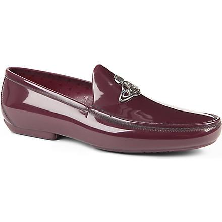 VIVIENNE WESTWOOD Icon orb loafers (Purple