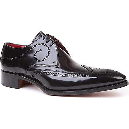 JEFFERY WEST Brilleaux Derby shoes (Black