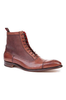 JEFFERY WEST Balmoral leather boots