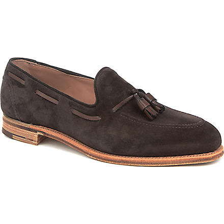 JOSEPH CHEANEY Harry tasseled loafers (Dk.brn com