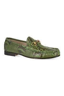 GUCCI Python loafer