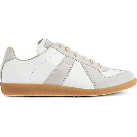 MAISON MARTIN MARGIELA Replica lo-rise trainers (White