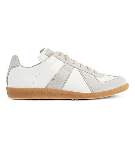 MAISON MARGIELA Replica lo-rise trainers (White