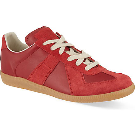 MAISON MARTIN MARGIELA Replica Lo trainers (Red