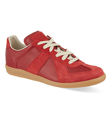MARTIN MARGIELA Replica Lo trainers (Red
