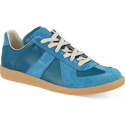 MAISON MARTIN MARGIELA Replica Lo trainers (Blue