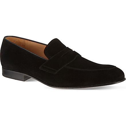 CHURCH Hayes penny loafers (Black