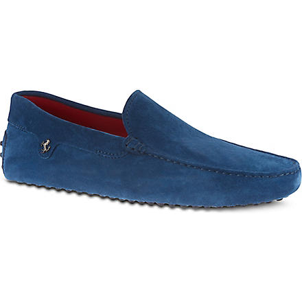 TODS Ferrari 56 driver shoes (Blue