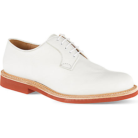 CHURCH Fulbeck micro derby shoes (White