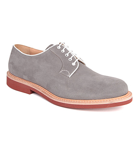 CHURCH Fulbeck micro Derby shoes (Grey