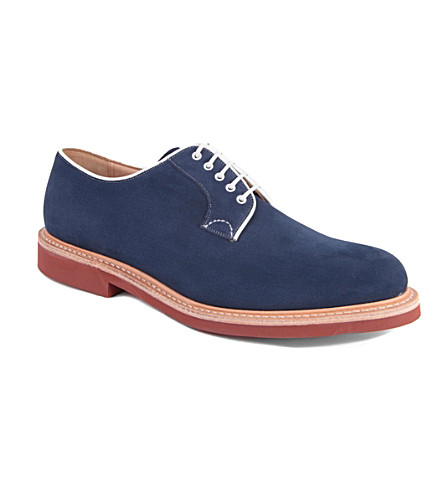 CHURCH Fulbeck micro Derby shoes (Blue