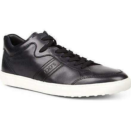 TODS Leather Sneakers (Navy