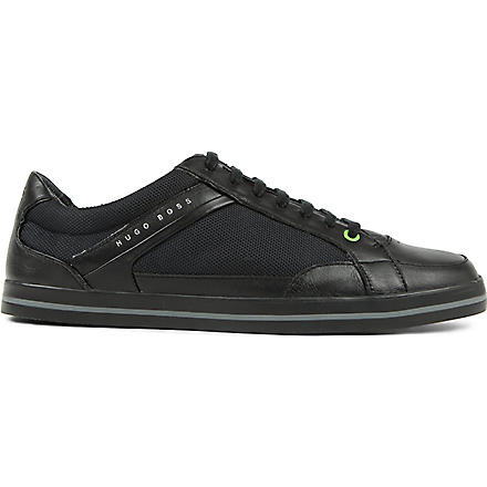 HUGO BOSS Apache 4 tennis trainers (Black